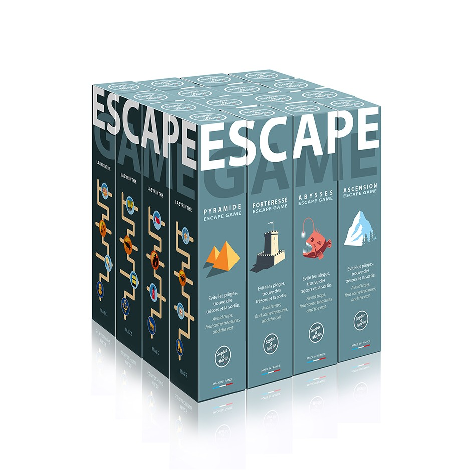 Pyramide escape-game